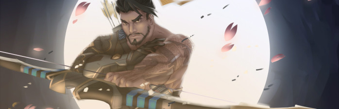 4. Overwatch - Hanzo, por Runezies