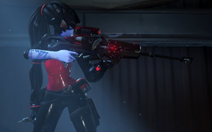 Visual 'Noire' para a Widowmaker