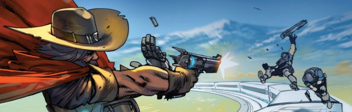 McCree: Train Hopper – Primeiro preview da Série de Comics!