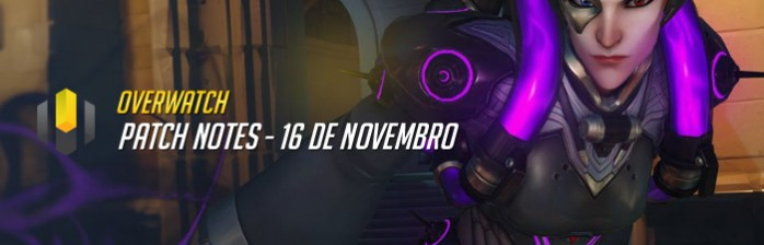 Patch Notes – 16 de Novembro